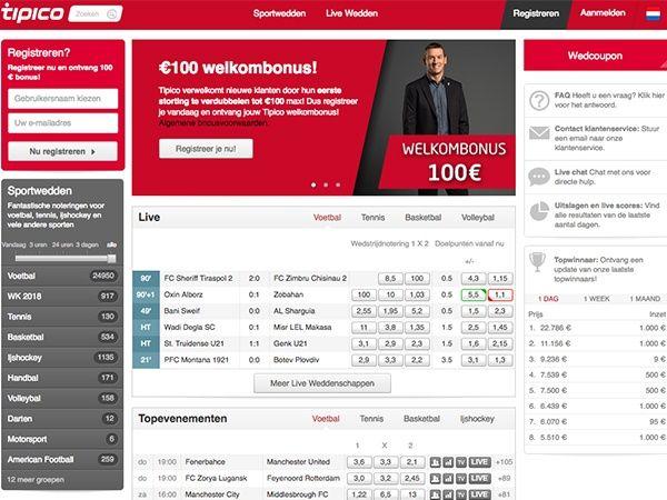 Tipico KlaГџische Website