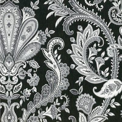 "Found it at Wayfair - Silk Impressions 32.7' x 20.5"" Jacobean Paisley Wallpaper"