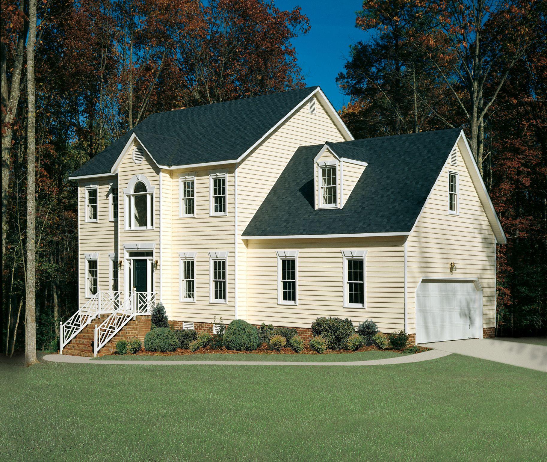 Cambridge Beaded Norandex Vinyl Siding House Siding Farmhouse Exterior