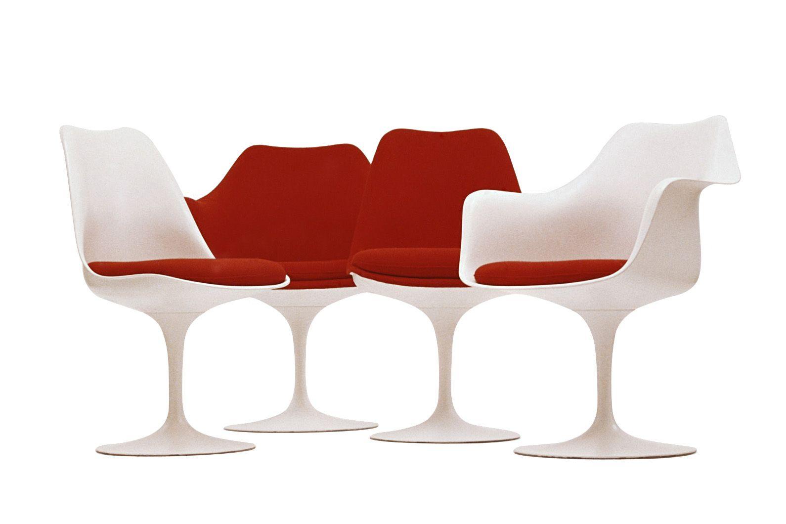 furniture + object/ tulip chairs/ eero saarinen/ 1955