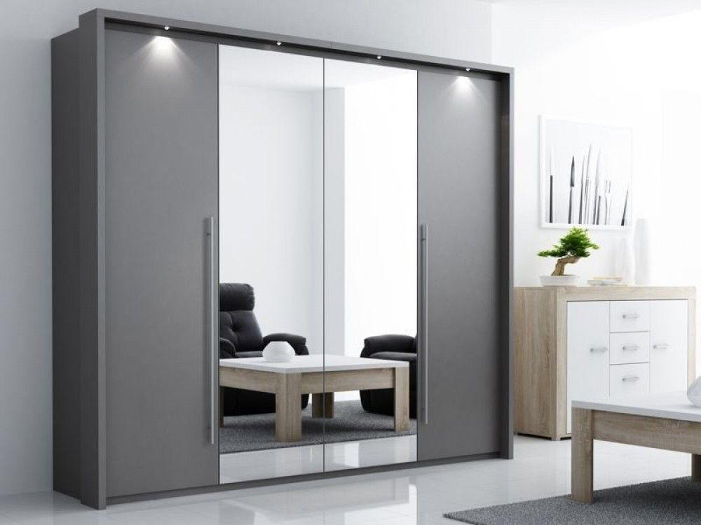 Beautiful designer dani luxury sliding 2 door mirrored