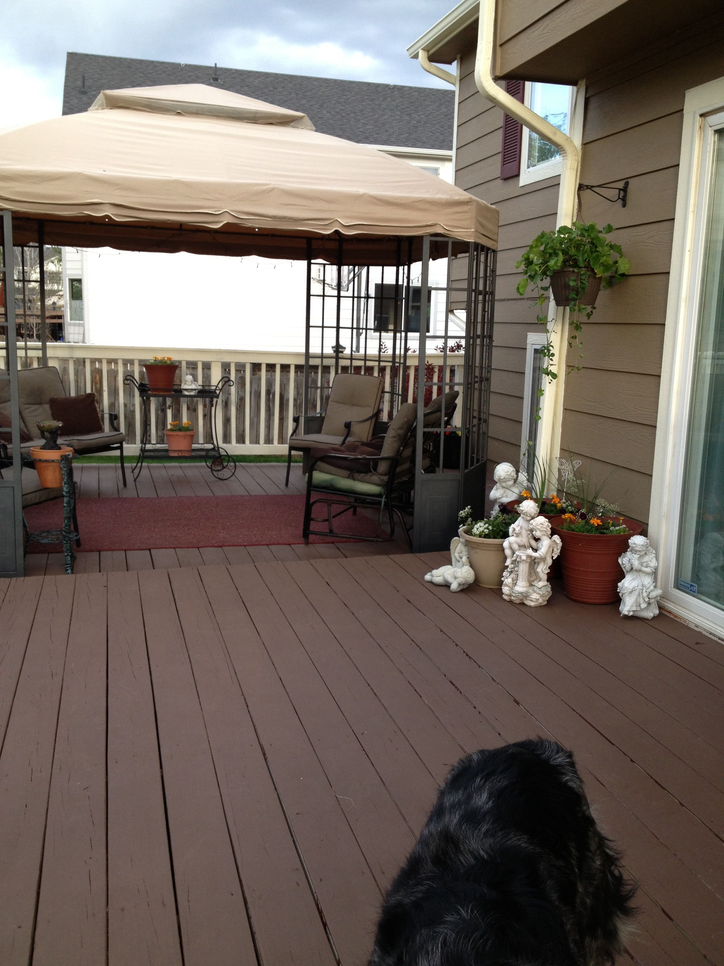 Painted Deck With Behr Deck Over Nailed It Deck