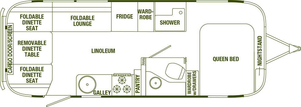 Eddie Bauer Airstream Floorplan |