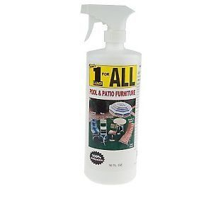 Awesome Feronu0027s 1 For All Pool And Patio Furniture Cleaner 32 Oz. . $14.99.  Biodegradable. Heavy Duty Cleaner For Outdoor, Furniture, Marine Use And  RVu0027s.