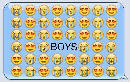 Boys....