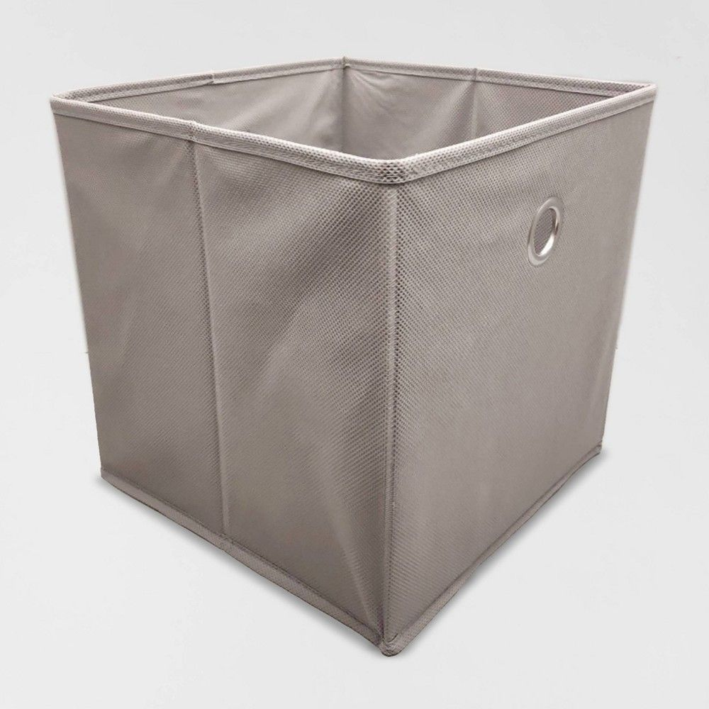 Fabric Cube Storage Bin 11 Room Essentials Black Cube Storage Bins Cube Storage Room Essentials