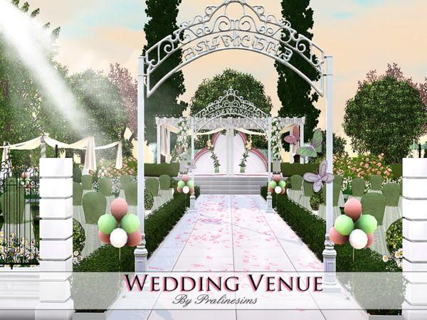 Pralinesims' Wedding Venue | SIMS 3 | Sims 3 wedding, Best