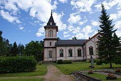 Keiteleen Kirkko heinäkuussa 2013