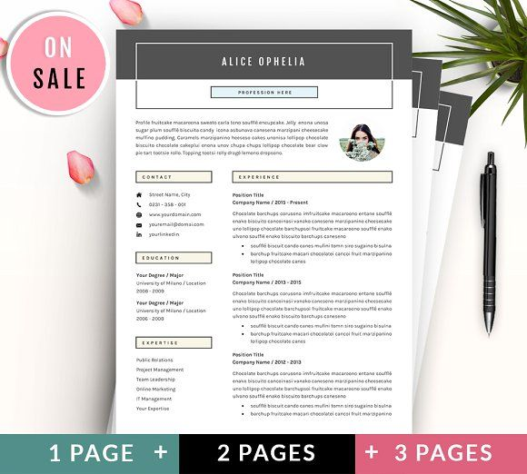 5 Pages Resume - CV Template Resume cv, Cv template and Template - resume 5 pages