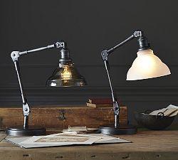 Desk Lamps Desk Lighting Table Lamps Lighting Pottery Barn