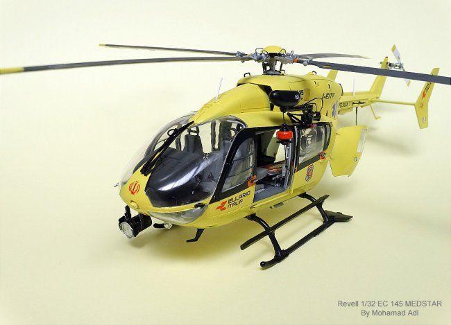 Eurocopter EC145 Medstar, REVELL 1/32 scale. By Mohammad ...