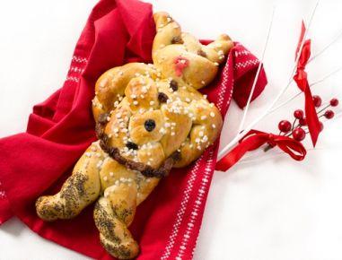 krampus aus germteig rezept weihnachtsrezepte pinterest recipes cooking recipes und. Black Bedroom Furniture Sets. Home Design Ideas