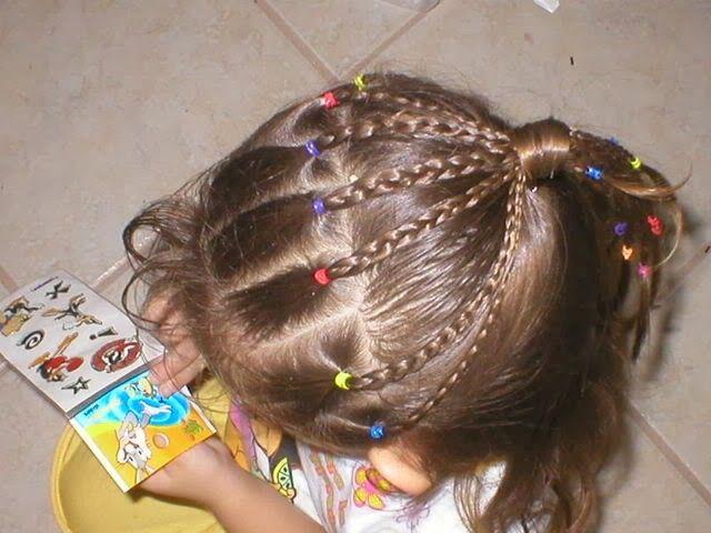 peinados faciles para nias