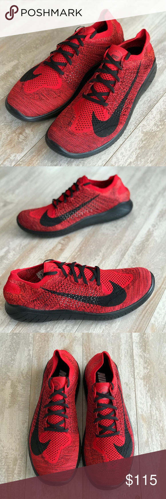 408043096247 NWT Nike ID Free Rn Flyknit 2018 Custom Brand new no box