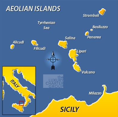 Although Italians have been holidaying in the Aeolian islands for
