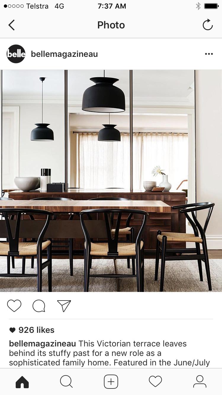Esszimmer ideen mit spiegeln pin von rea x auf black u white  pinterest  esszimmer wohnzimmer