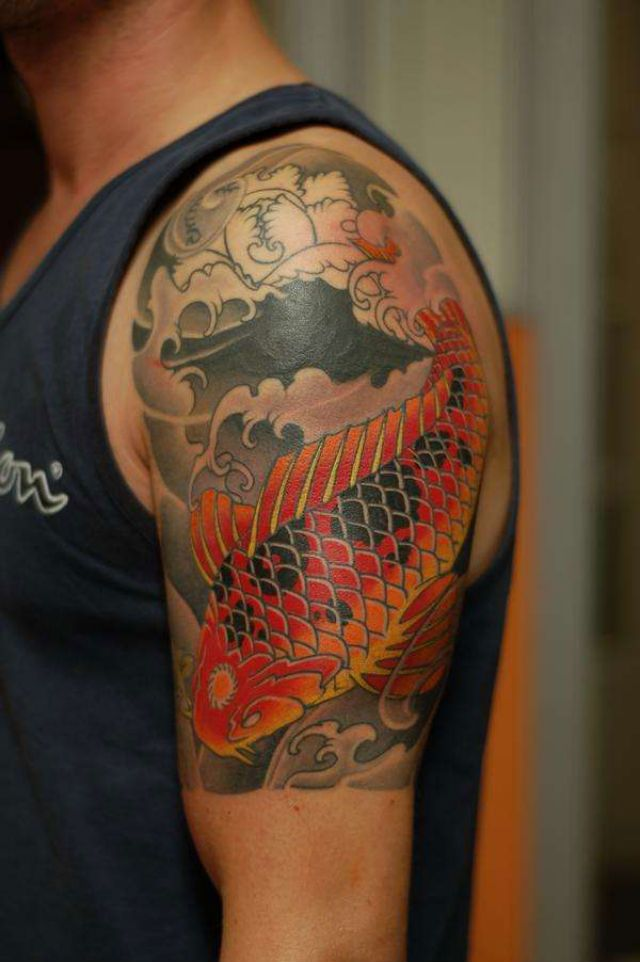 Amazing koi fish tattoo designs notion design koi fish for Amazing koi fish