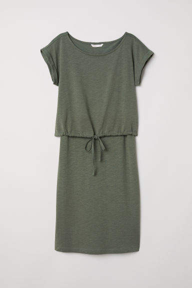 16b44b951f3 H M MAMA Nursing Dress - Green