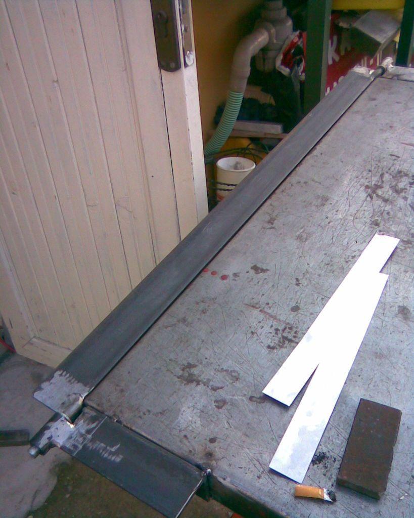 DIY Sheet Metal Bender Brake | Листогиб и Золотое сечение