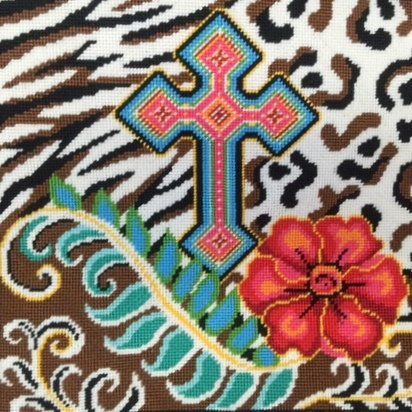 Canoodles Cross on Animal Skins Needlepoint Kit #5051 Alice Peterson http://www.amazon.com/dp/B00KLDAJXO/ref=cm_sw_r_pi_dp_MIF1vb0KP0S54