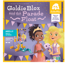 Goldie Blox -- toys for future innovators, story-driven construction. See other kids' kit ideas on our blog http://www.kidsfuturepress.com/8-tech-learning-games-and-projects/
