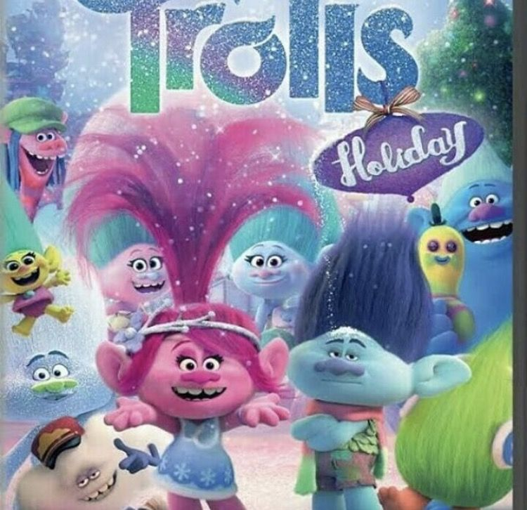 Trolls Holiday 2017 Christmas Special Sequel To Trolls 2016 Sequel Trolls The Beat Goes On 20 Animated Christmas Movies Holiday Poster Dreamworks Trolls