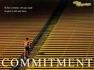"""Are You Committed to Your Success? You Better Be!    Are you REALLY committed to your business success?    You might be thinking, """"Sure, I am!"""". But then your actions might say something else…    Do you quit when you go through some obstacles? Do you cry like a baby when somebody doesn't buy from you?"""