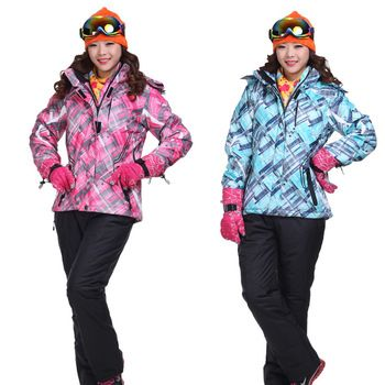 High quality ski suit cotton-padded jacket outdoor cold-proof monoboard outdoor jacket set 1306 $110