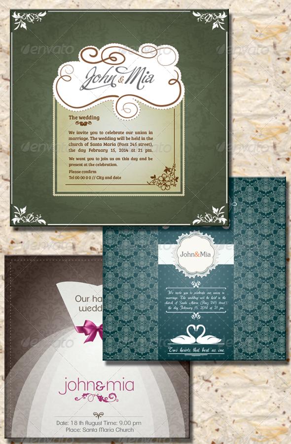 Invitation to Wedding II Invitation to Wedding