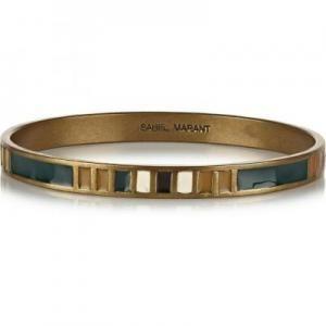 Isabel Marant Blondie Brass Bracelet - Resin - Sale