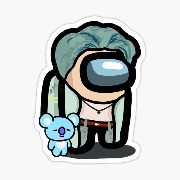 RM BTS (Among Us) Sticker