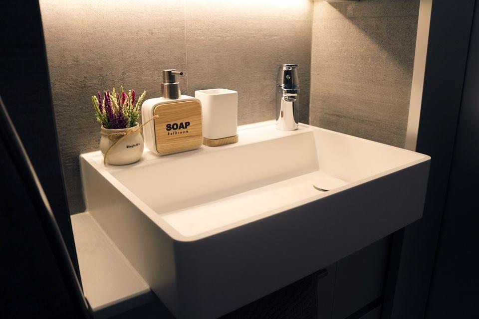 太古城天星閣 訂造洗手盆 Bc 00006 Shower Panels Wash Basin Bath
