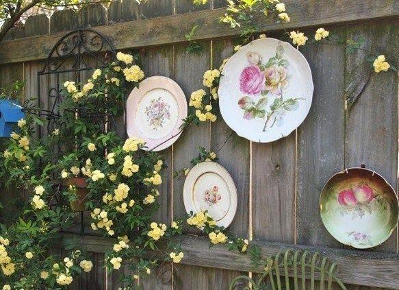 Belles id es r cup et d co pour le jardin palettes et for Deco jardin pinterest