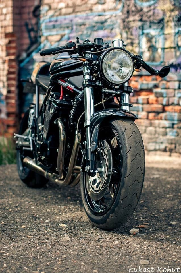 99 Garageblogspot Bandit Cafe Racer Poland