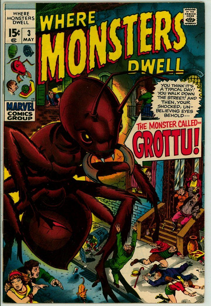 Where Monsters Dwell 3 (FN/VF 7.0)