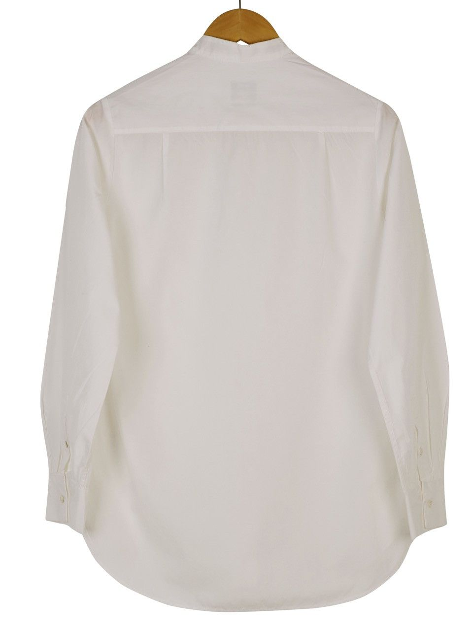 Dress Shirt In White Poplin Dress Shirts Bibs And Cotton