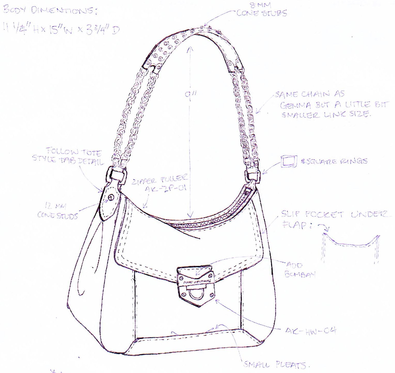 Aimee Kestenberg Hobo Sketch | bags | Pinterest | Nähen
