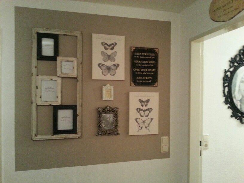 shabby bilderrahmen von flohmarkt und lieblingsst cke. Black Bedroom Furniture Sets. Home Design Ideas
