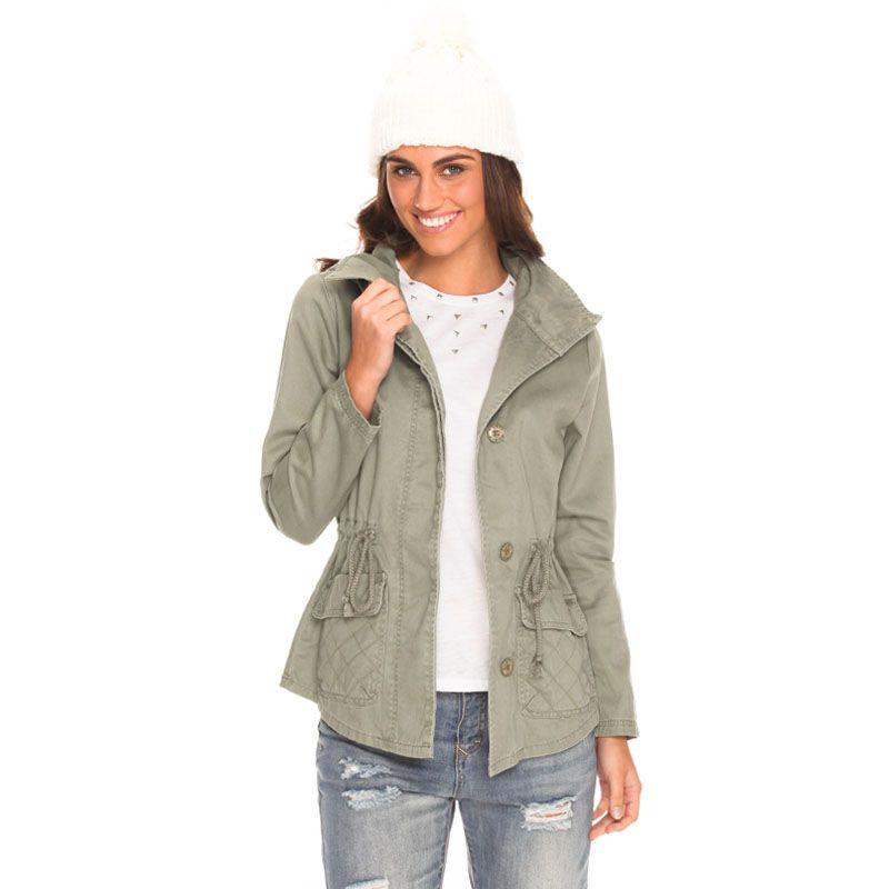 Rusty Charmer Jacket | $109.99 | City Beach Australia