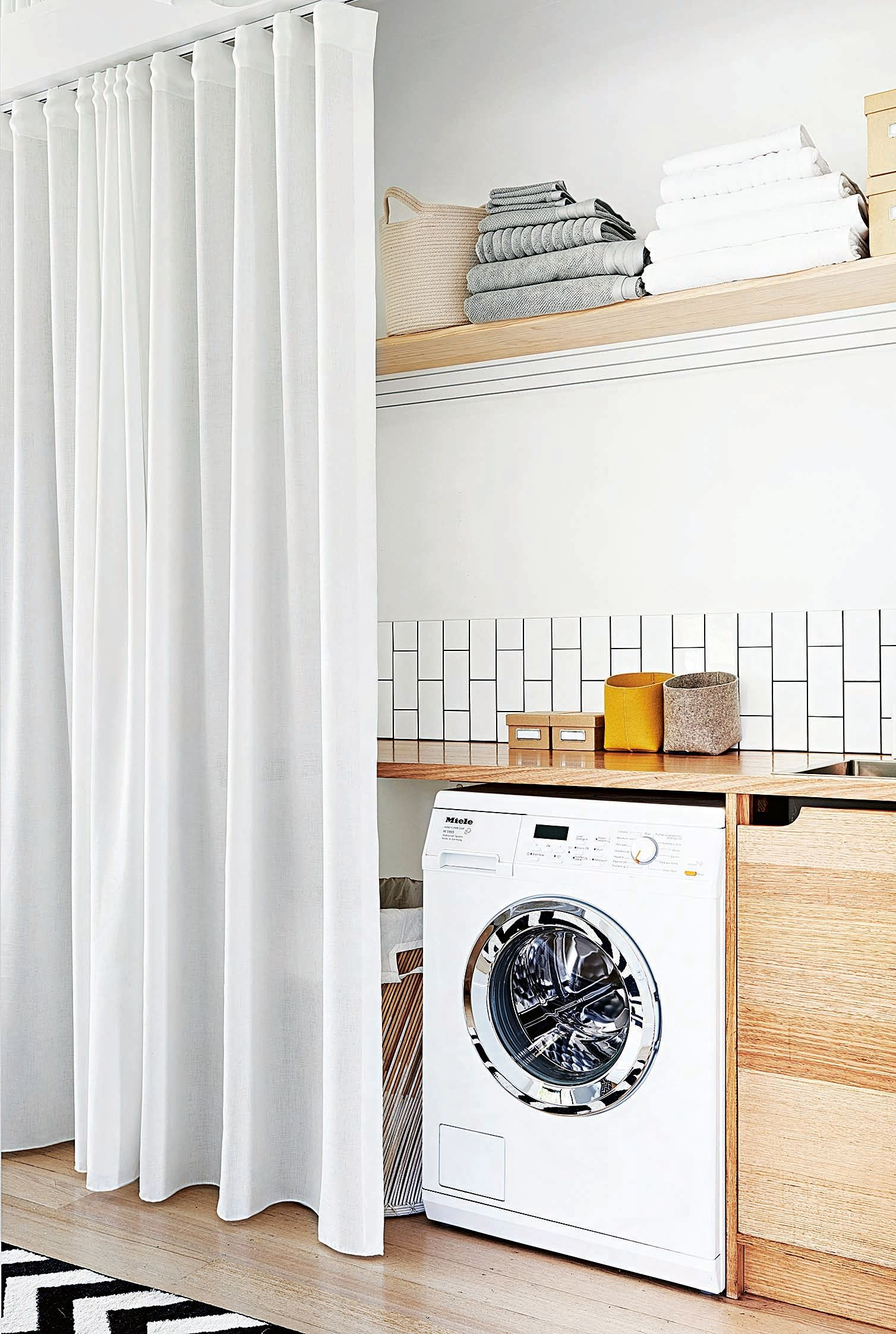 These Laundry Closets Tackle Chore Day in the Smartest Way