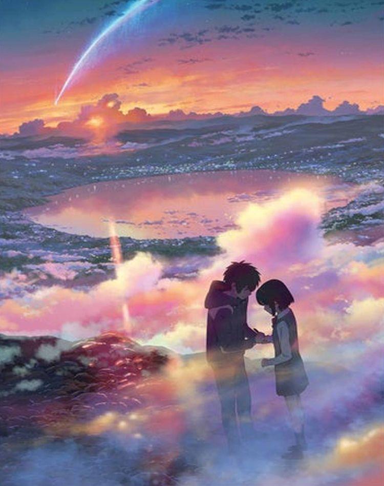 Kimi no na wa Your name Art Print by adammod