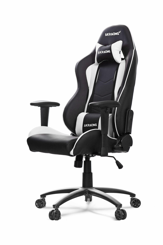 AKRACING Nitro Gaming Chair White WRGamers AKRACING (med