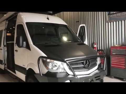 Mercedes Sprinter Cyclist Conversion