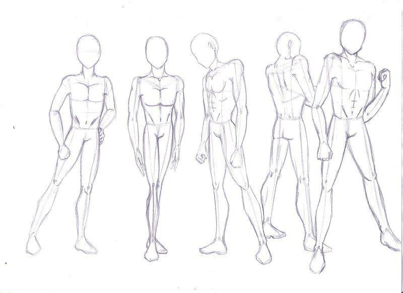 Male Body Practice By Sakura Aniki Anime Drawings Body Drawing Anime Guys