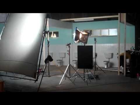 Lighting The Bathroom Scene Set Based On Full Metal Jacket
