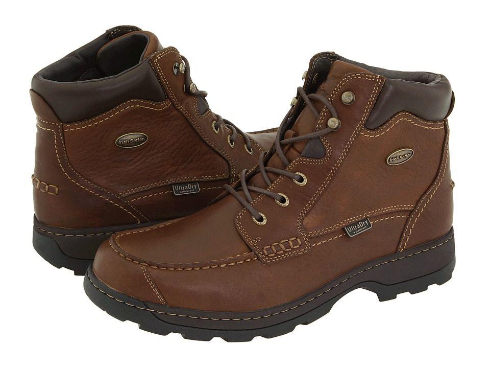 Irish Setter Soft Paw 3875 Men S Boots Brown Full Grain