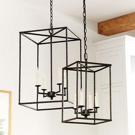 Hadley 4 Light Pendant Chandelier Ballard Designs LightingLantern