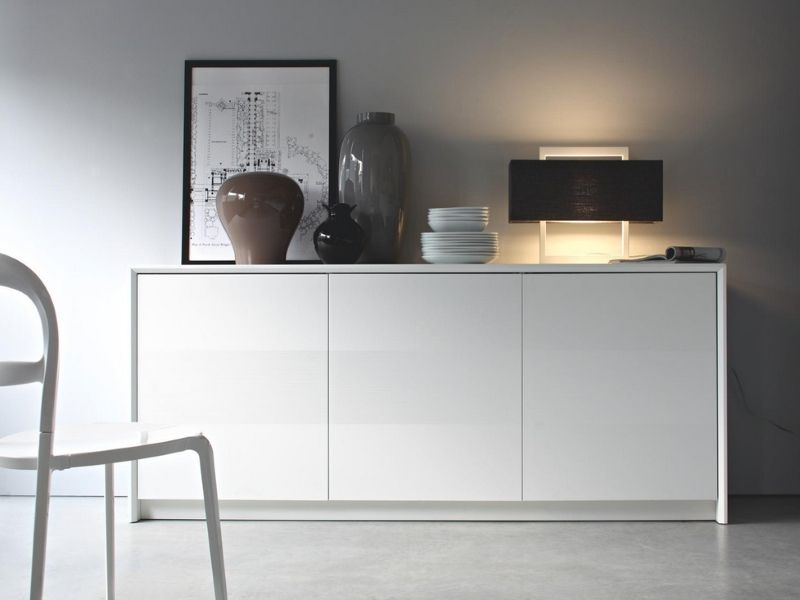 Credenza Moderna Calligaris : Madia calligaris home contemporary storage furniture sideboard