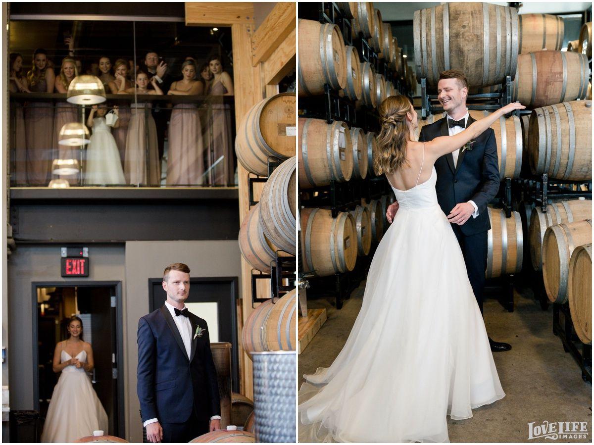Fall District Winery Wedding Kaitlyn John Wedding Dc Wedding Photography Barrel Wedding [ 899 x 1200 Pixel ]
