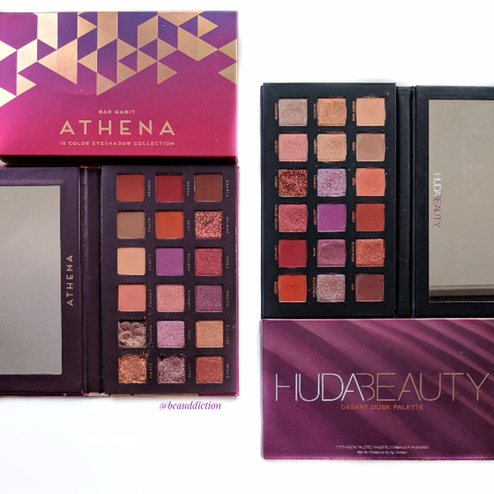 Bad Habit Beauty Athena Palette (12) is an exact dupe for